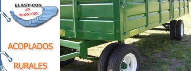 Acoplados y todos los implementos de la Agroindustria